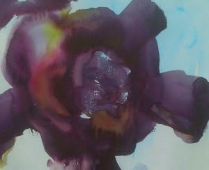 erikoinen fortunan kukka akvarelli-1